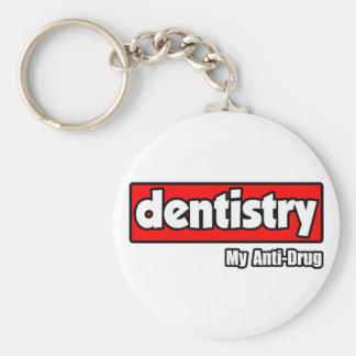 Dentistry...My Anti-Drug Basic Round Button Keychain