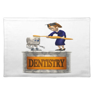 Dentistry Cloth Place Mat