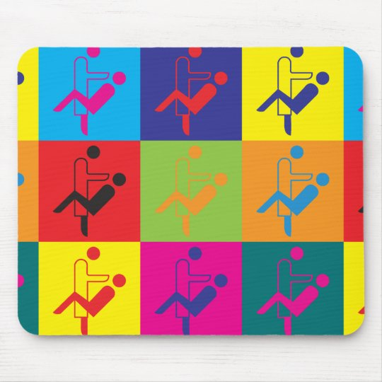 Dentistry Pop Art Mouse Pad