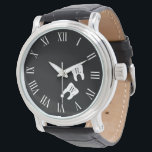 "Dentistry Professional Custom Molar Initials Wrist Watch<br><div class=""desc"">A fun and creative watch featuring a set of molar teeth with yours or your gift recipient initials on it. a great gift for dentist,  orthodontist,  dentist assistant,  or anyone who works in the dental industry.</div>"