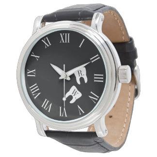 Dentistry Professional Custom Molar Initials Wrist Watch