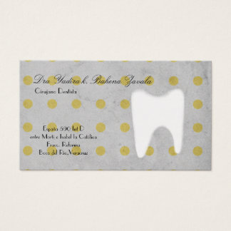 Dentistry surgery dentist tooth Business Card