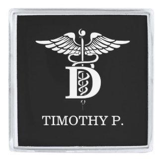Dentistry Symbol Silver Finish Lapel Pin