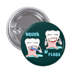 Dentists and dental hygienists humor pins