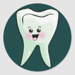 Dentists and Dental Hygienists Classic Round Sticker