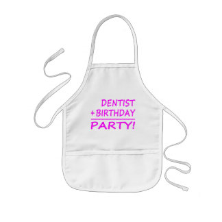 Dentists Birthdays : Dentist + Birthday = Party Kids' Apron