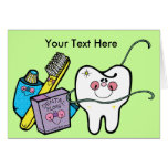 Dentist's Day March 6 Greeting Cards