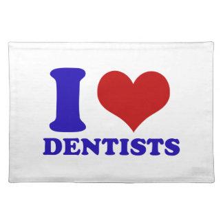 dentists design cloth place mat