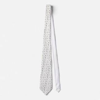 Dentists Dream White Tooth Tie