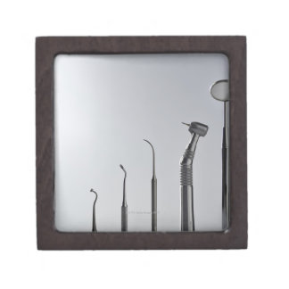 Dentist's instruments premium keepsake boxes