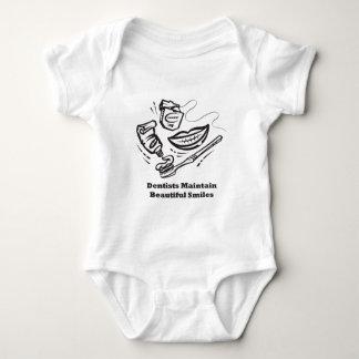 Dentists Maintain Beautiful Smiles Baby Bodysuit