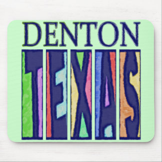 Denton, Texas Mouse Pad