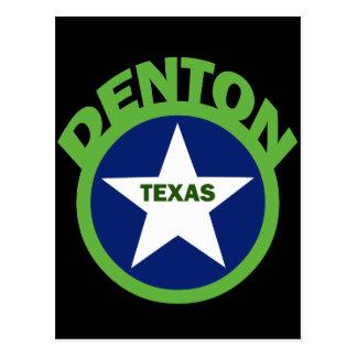 DENTON, TEXAS POSTCARD