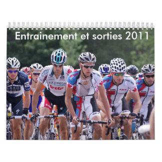 D'entrainements y salidas 2011 de Calendrier Calendario