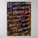 Dentro de 30 años poster