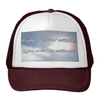 Dentro de fuera gorras