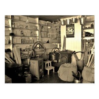 Dentro de una ferretería vieja (irlandesa) tarjetas postales