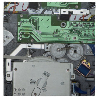 Dentro de una impresora laser servilletas de papel