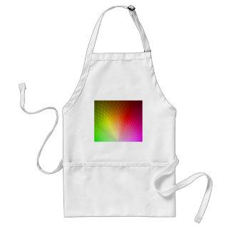 Dentro del arco iris (color 2) delantal