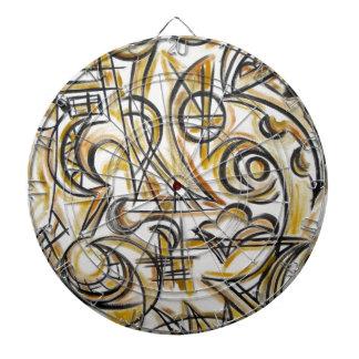 Dentro del arte Laberinto-Abstracto pintado a mano
