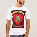 Dentro del Corazón T-shirt 2 de Matanzas Playera