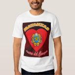 Dentro del Corazón T-shirt 2 de Matanzas Playeras