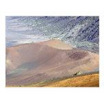 Dentro del cráter de Haleakala, Maui, Hawaii, los  Postal
