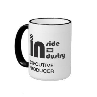 Dentro del logotipo de la industria tazas