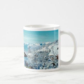 Dents du Midi and Chesieres, Vaud Canton Winter Mug
