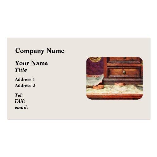 Dentures Business Card Template