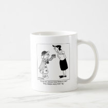 Dentures Chatter When I Fly Coffee Mug