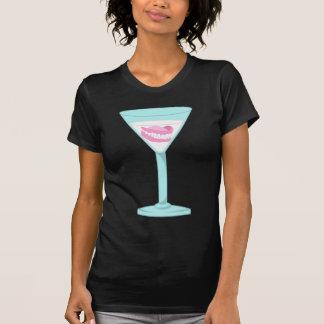 Dentures False Teeth Martini T-Shirt