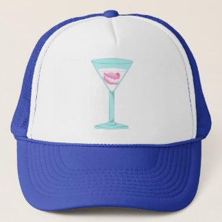 Dentures False Teeth Martini Trucker Hat