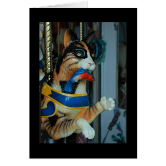 Dentzel Cat Greeting Card