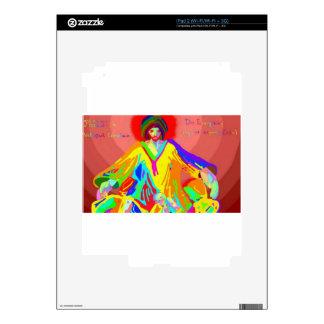 Denuncia y discusión, pintura de aceite digital iPad 2 skin