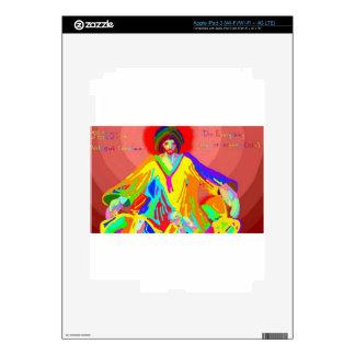 Denuncia y discusión, pintura de aceite digital iPad 3 pegatinas skins