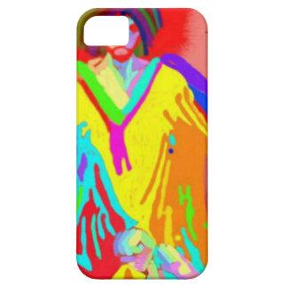 Denuncia y discusión, pintura de aceite digital iPhone 5 carcasas