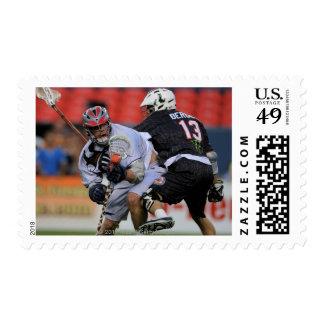 DENVER - 16 DE JULIO: Greg que traga los jóvenes Timbres Postales