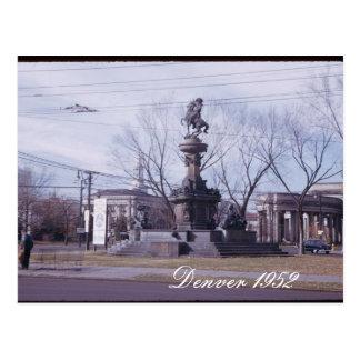 Denver 1952 Postcard