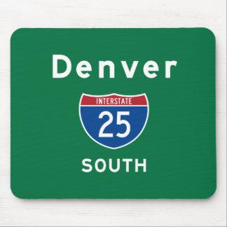 Denver 25 mouse pad