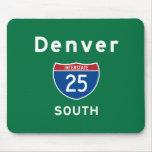 Denver 25 tapetes de ratón