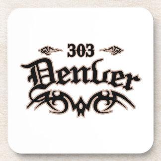 Denver 303 drink coaster