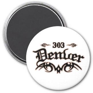 Denver 303 imán redondo 7 cm