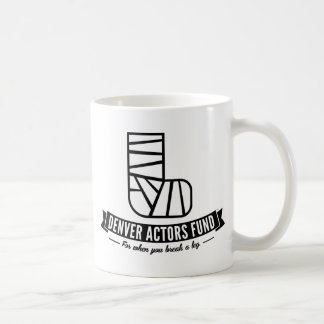 Denver Actors Fund Gifts Classic White Coffee Mug