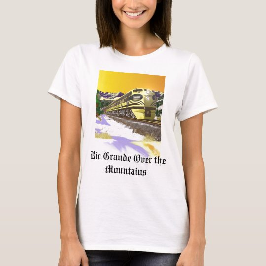 Denver and Rio Grande  Bumble Bee PRailfan T-Shirt