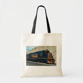 Denver and Rio Grande Western, EMD SD-50 Budget Tote Bag