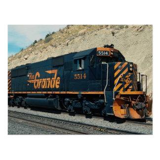 Denver and Rio Grande Western EMD SD-50 No. 5514, Postcard