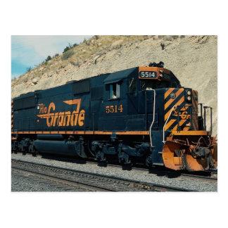 Denver and Rio Grande Western, EMD SD-50 Postcard