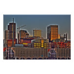 Denver at Dusk Posters
