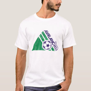 Denver Avalanche Soccer Destroyed Shirt